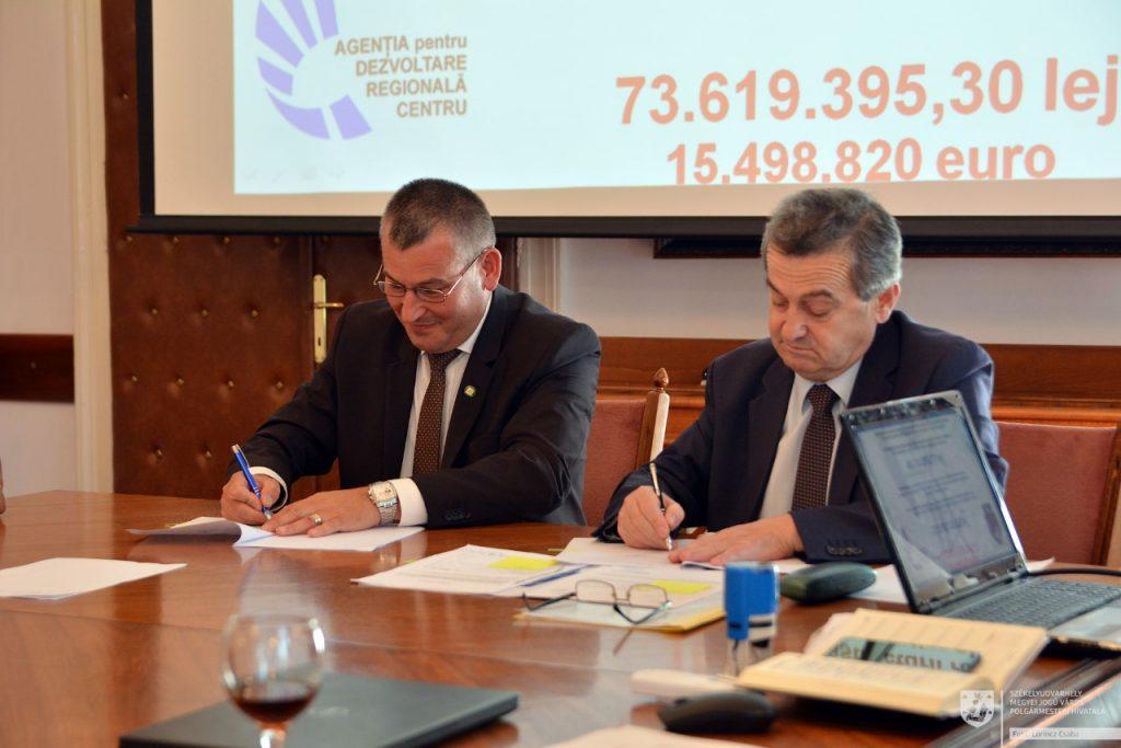 Tízmillió eurót kap Székelyudvarhely utcák modernizálására